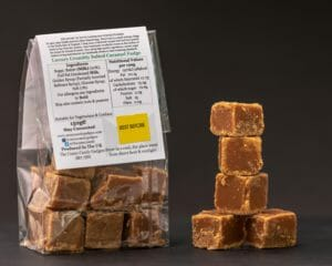 CCG Crumbly Salted Caramel Fudge Rear Pack Info