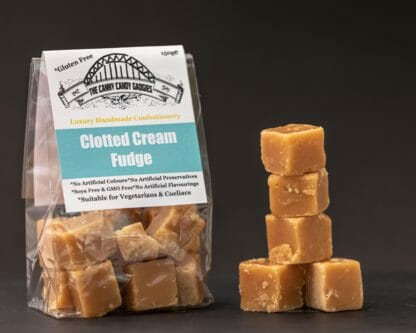 Canny Candy Gadgies Clotted Cream Fudge