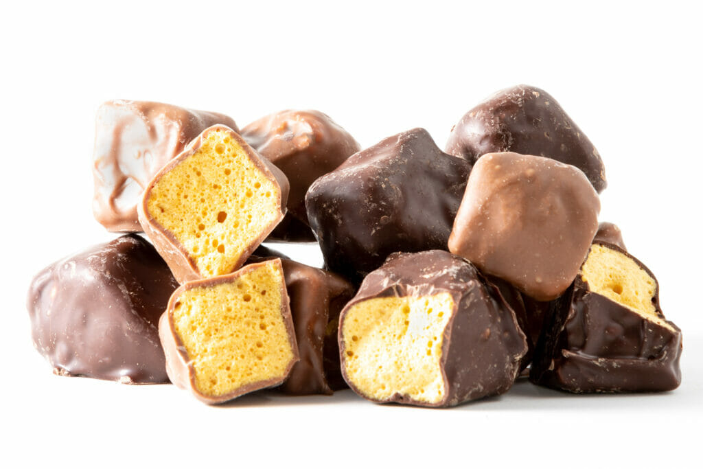 Chocolate covered Honeycomb click here for more details